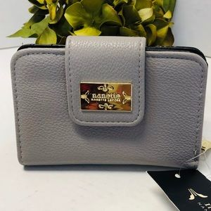 Nanette Lepore Gray Wallet with RFID